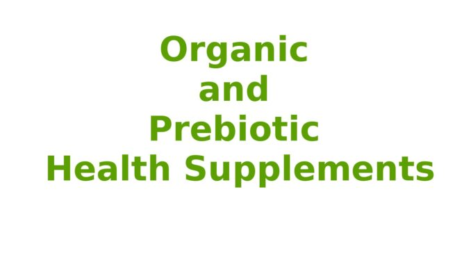 Organic and Prebiotic Health Supplements Online in Canada