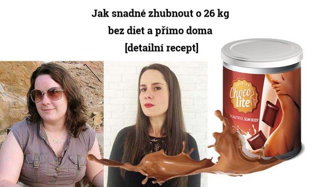 Jak snadné zhubnout o 26 kg bez diet a přímo doma [detailní recept]